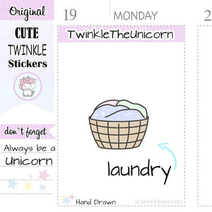 Laundry Planner Stickers Laundry Planner Sticker Laundry Happy Planner Laundry Sticker Hamper Laundry Stickers Laundry Erin Condren
