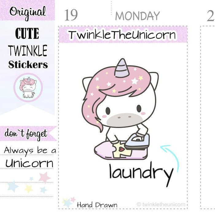 A109 | iron stickers TwinkleTheUnicorn