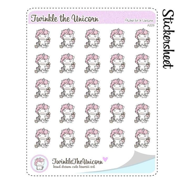 A229 | mom stickers TwinkleTheUnicorn