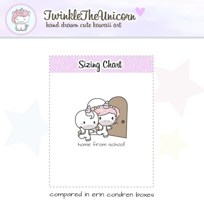 A231 | mommy stickers TwinkleTheUnicorn