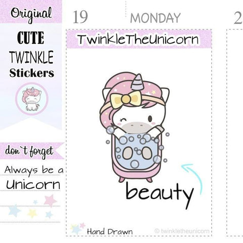 A256 | bath stickers TwinkleTheUnicorn