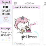 A294 | pack stickers TwinkleTheUnicorn