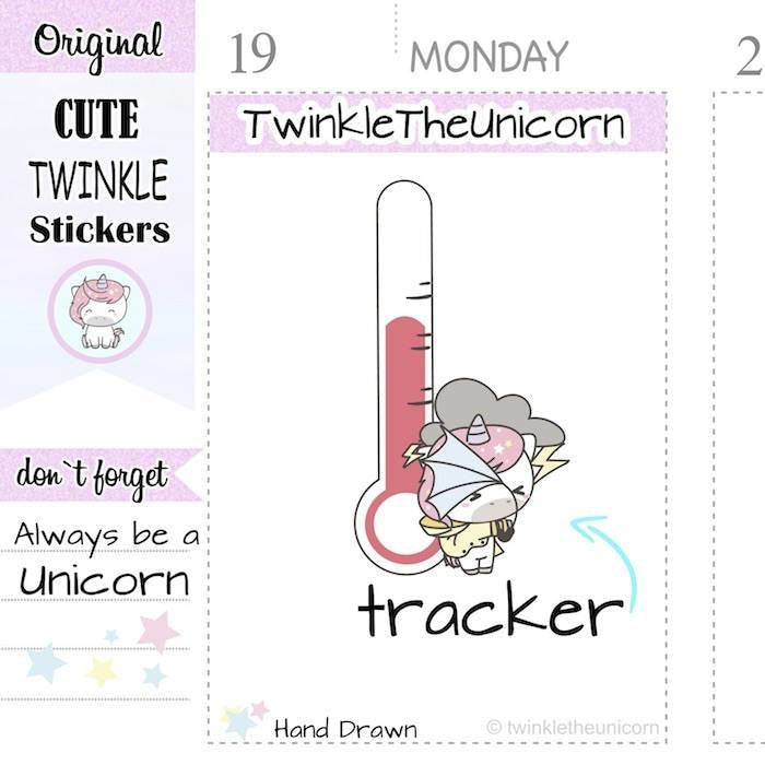 A300 | weather stickers TwinkleTheUnicorn