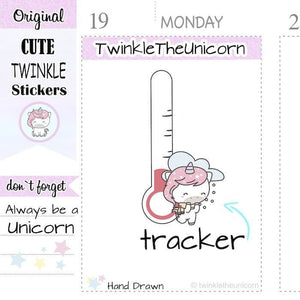 A302 | weather stickers TwinkleTheUnicorn