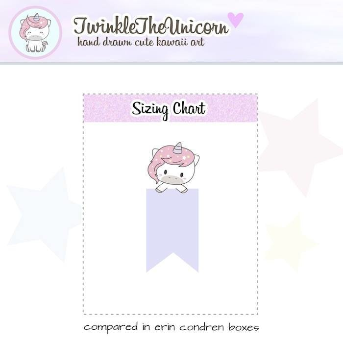 A344 | page flags stickers TwinkleTheUnicorn