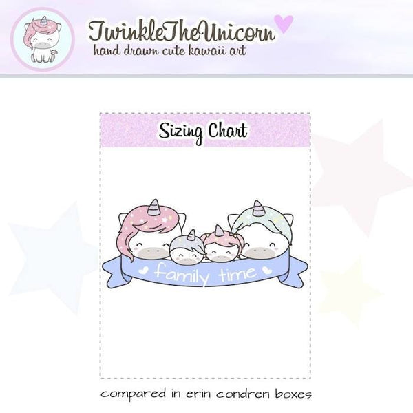 A369 | family stickers TwinkleTheUnicorn