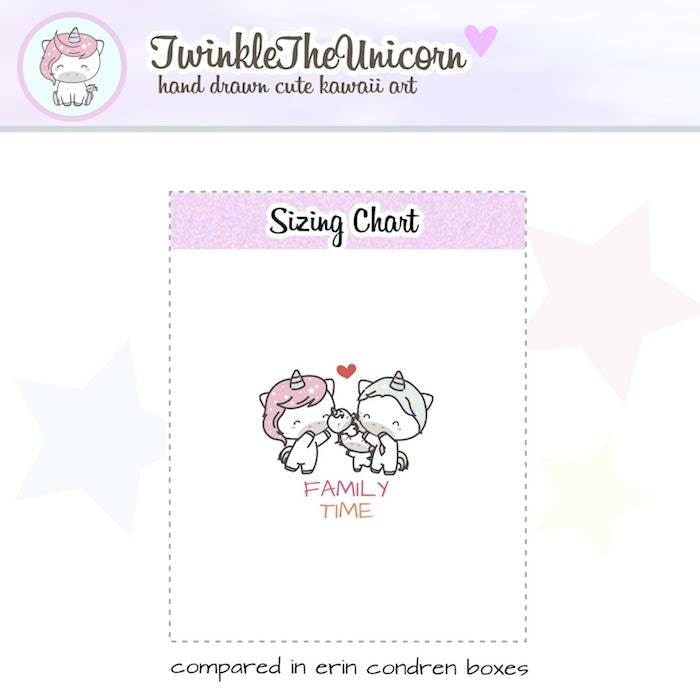 A371 | family stickers TwinkleTheUnicorn
