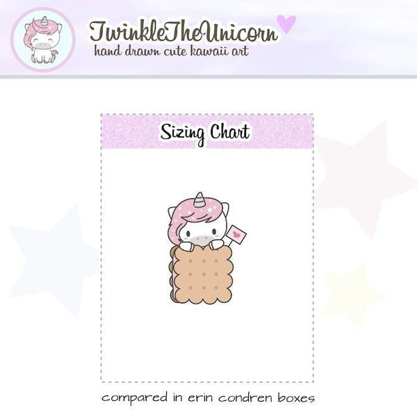 A437 | dessert stickers TwinkleTheUnicorn