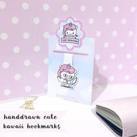 B003 | magnetic bookmark TwinkleTheUnicorn