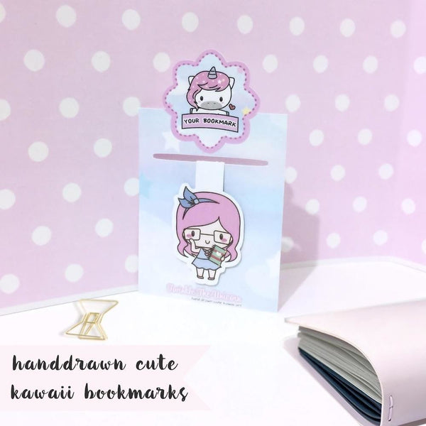B009 | magnetic bookmark TwinkleTheUnicorn