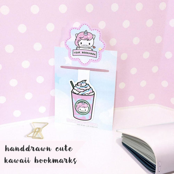 B018 | magnetic bookmark TwinkleTheUnicorn