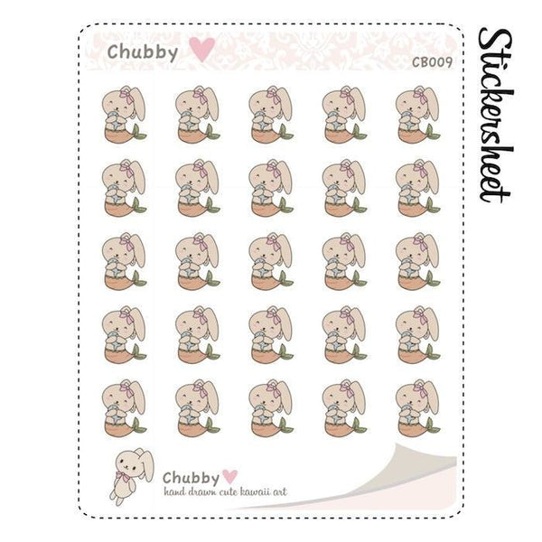 CB009 | Mermaid Planner Stickers TwinkleTheUnicorn
