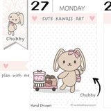 CB019 | Shopping Planner Stickers TwinkleTheUnicorn