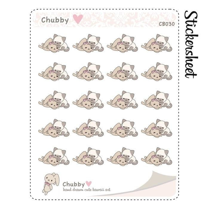 CB030 | Pet Planner Stickers TwinkleTheUnicorn