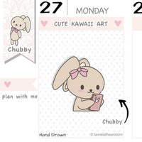 CB037 | Phone Planner Stickers TwinkleTheUnicorn