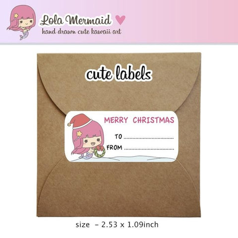 christmas planner stickers L030 TwinkleTheUnicorn