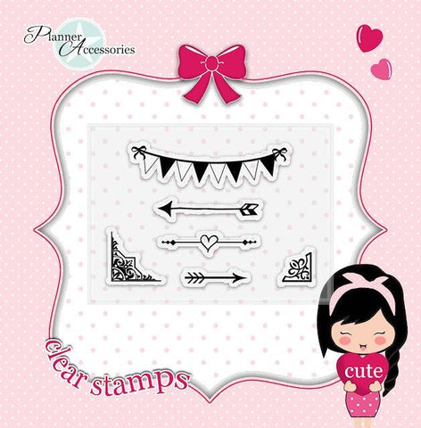 clear stamp flags 012 TwinkleTheUnicorn