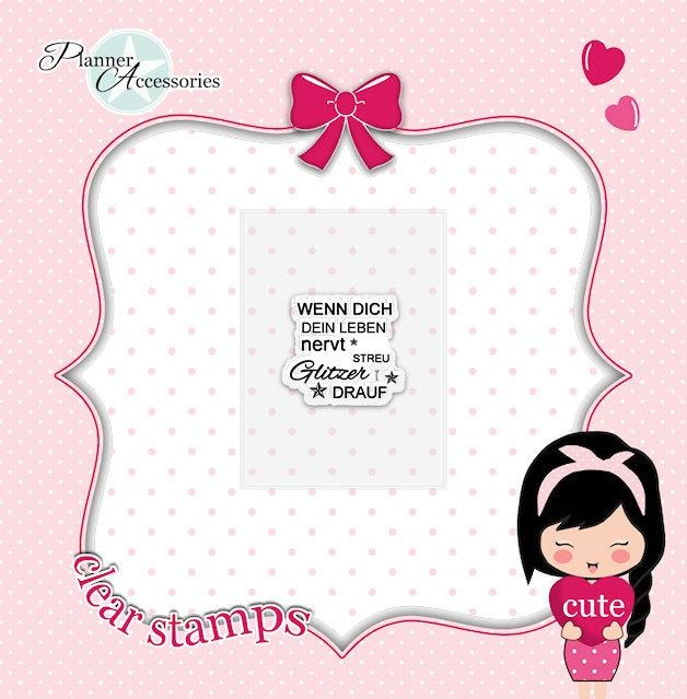 clear stamp quote 005 TwinkleTheUnicorn