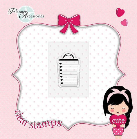 clear stamp shopping 003 TwinkleTheUnicorn