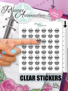 Clear Washing Stickers NR356 EmelysPlannerShop