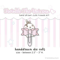 DC208 | Paperclip Die Cuts TwinkleTheUnicorn