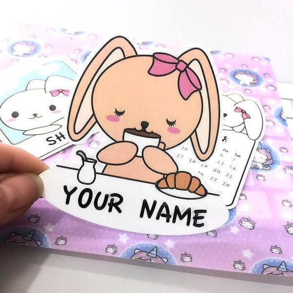 DC221 Customizable Planner Die Cuts TwinkleTheUnicorn