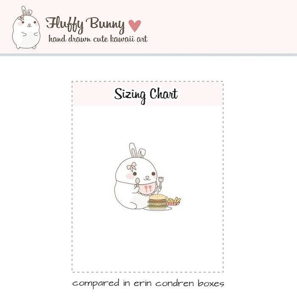 FB006 | hamburger planner stickers TwinkleTheUnicorn