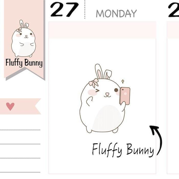 FB013 | blogger planner stickers TwinkleTheUnicorn