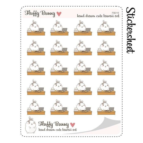 FB019 | working planner stickers TwinkleTheUnicorn