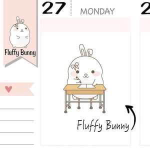 FB020 | school planner stickers TwinkleTheUnicorn