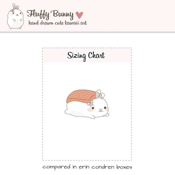 FB023 | sushi stickers TwinkleTheUnicorn