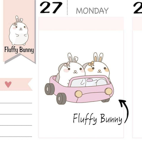 FB046 | car stickers planner stickers TwinkleTheUnicorn
