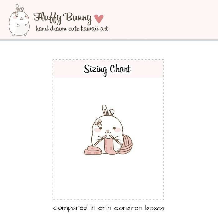 FB055 | kawaii knitting planner stickers TwinkleTheUnicorn