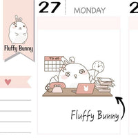FB071 | working planner stickers TwinkleTheUnicorn