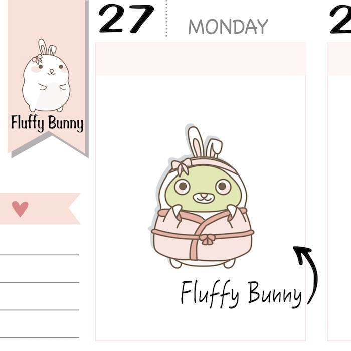 FB080 | Face Mask Planner Stickers TwinkleTheUnicorn