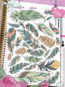 Feather Stickers 272 EmelysPlannerShop