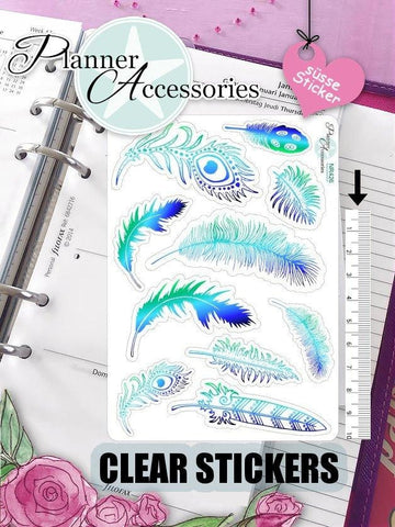 Feather Stickers 426 EmelysPlannerShop