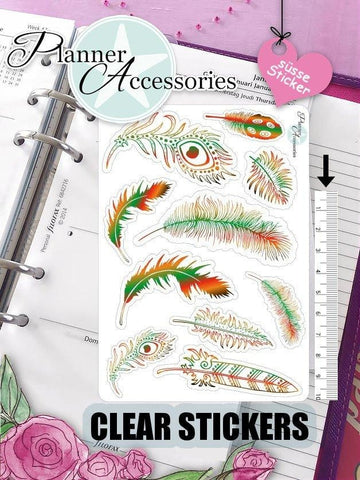 Feather Stickers 427 EmelysPlannerShop