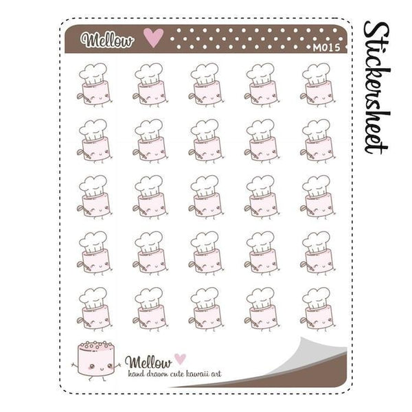 food planner stickers M015 TwinkleTheUnicorn