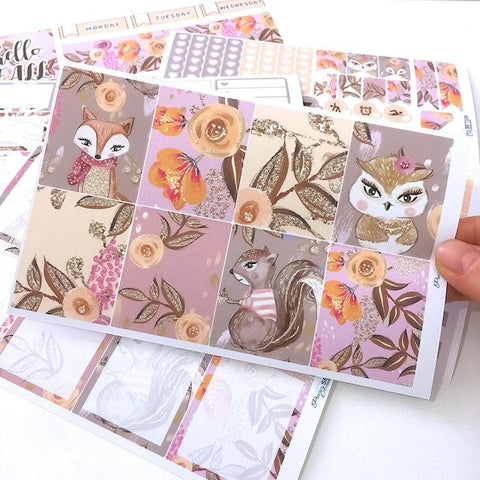 Happy Planner & ECLP Vertical Weekly Kit 035 EmelysPlannerShop