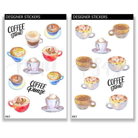 Coffee Planner Stickers 083