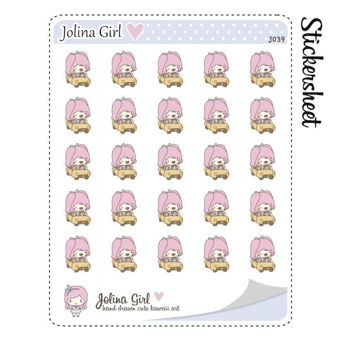 J039 | car stickers TwinkleTheUnicorn