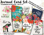 Journal Cards JC009 EmelysPlannerShop
