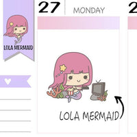 L009 | movie night planner stickers TwinkleTheUnicorn