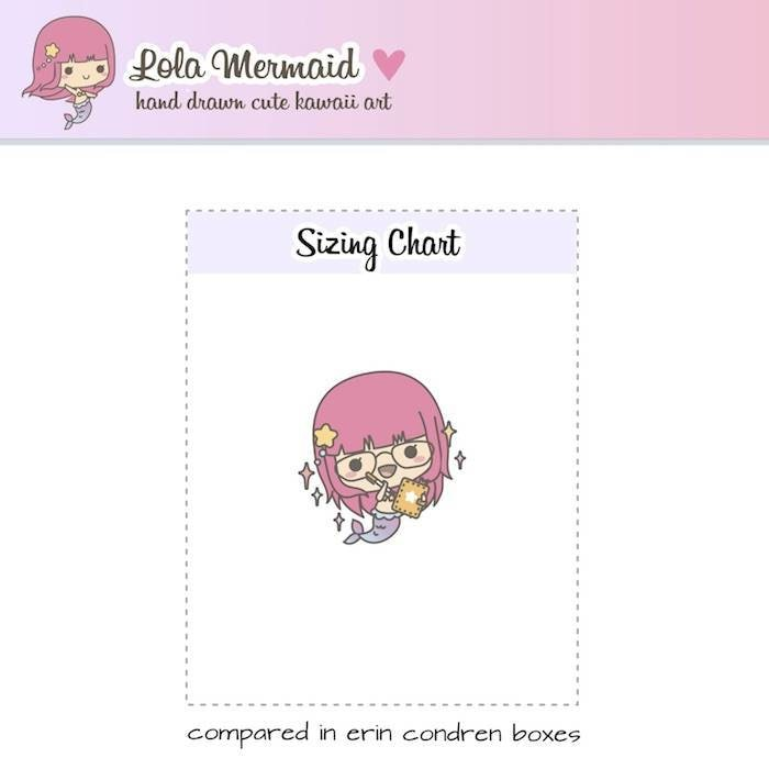L019 planner girl stickers TwinkleTheUnicorn