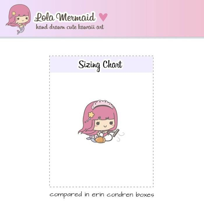 L034| kawaii cleaning planner stickers TwinkleTheUnicorn