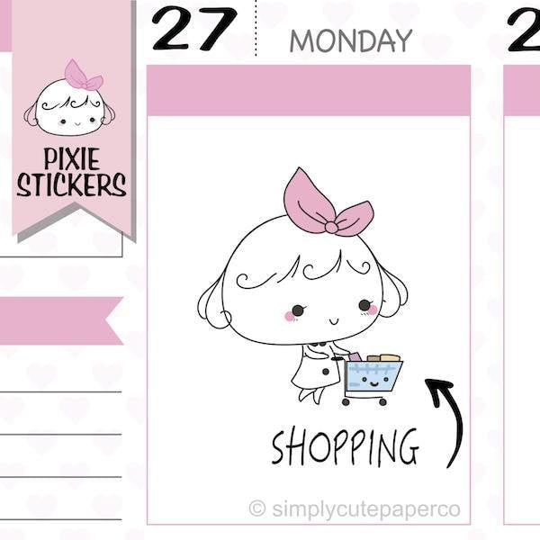 P016 shopping stickers TwinkleTheUnicorn