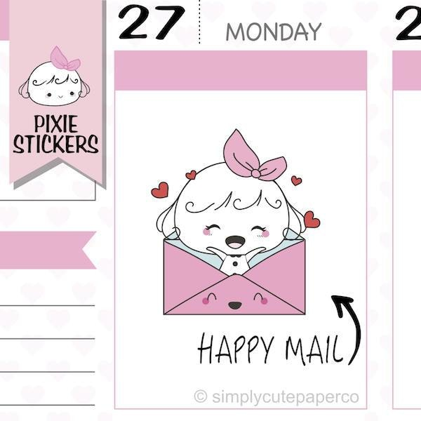 P033 | happy mail stickers TwinkleTheUnicorn