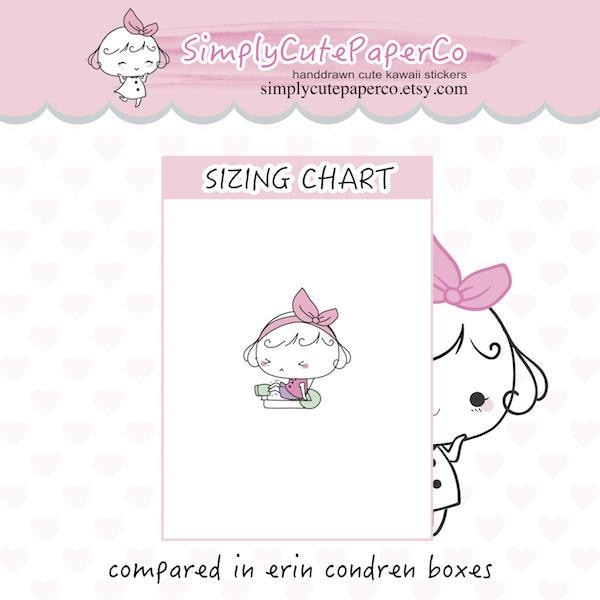 P040 | leg press planner stickers TwinkleTheUnicorn