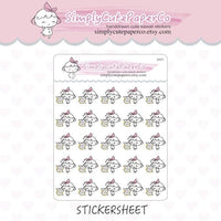 P048| pay bills stickers TwinkleTheUnicorn